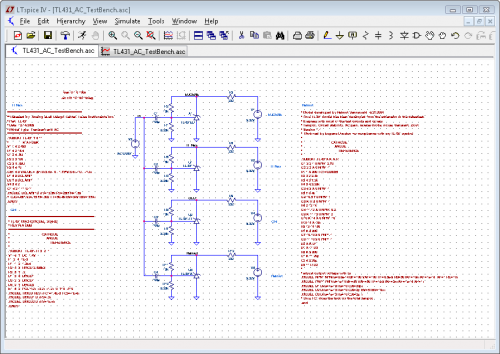 TL431 AC TestBench Schematic